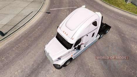 Скин P.A.M.Transport на Freightliner Cascadia for American Truck Simulator
