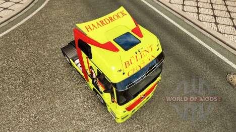 Skin Bulent Ceylan in truck Mercedes-Benz for Euro Truck Simulator 2