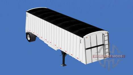 Semi-trailer grain truck for American Truck Simulator