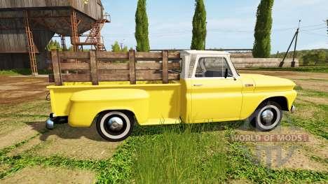 Chevrolet C10 Fleetside 1966 for Farming Simulator 2017