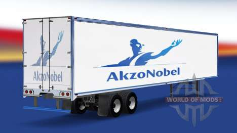 Skin AkzoNobel on the trailer for American Truck Simulator