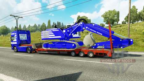 Skin T. van der Vijver at low sweep for Euro Truck Simulator 2
