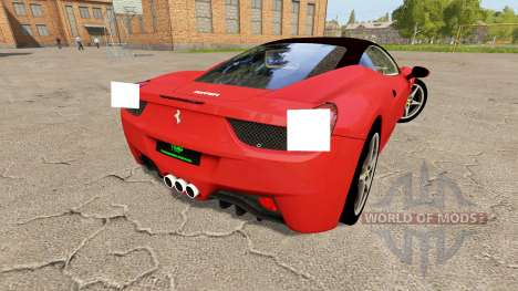 Ferrari 458 Italia v1.1 for Farming Simulator 2017