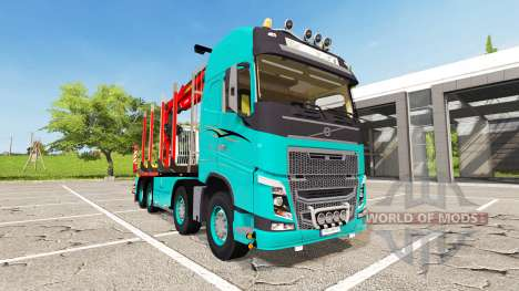 Volvo FH16 750 Forest for Farming Simulator 2017