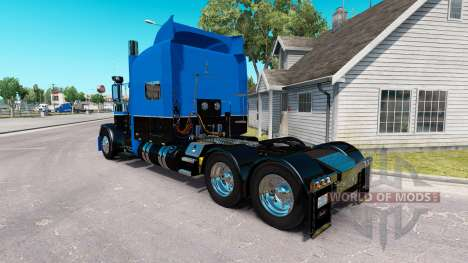 Skin Hot Road Rigs for the truck Peterbilt 389 for American Truck Simulator