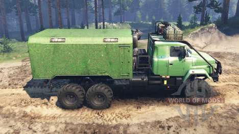KrAZ-63221 for Spin Tires