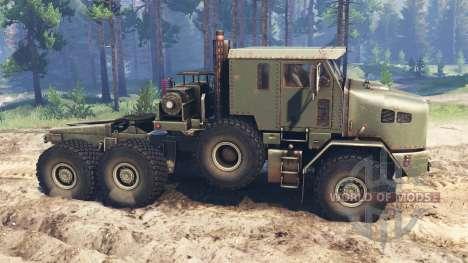 Oshkosh M1070 HET v2.0 for Spin Tires