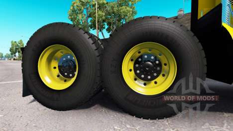 Off-road wheels for American Truck Simulator