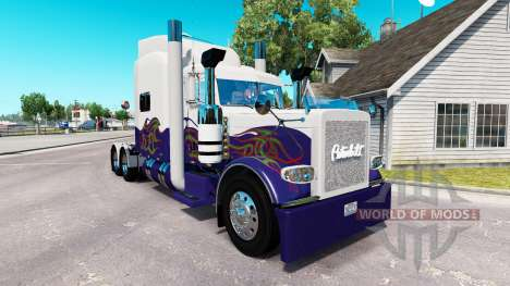 Skin for the truck Peterbilt 389 for American Truck Simulator