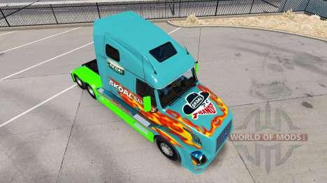 Skoal Bandit skin for Volvo truck VNL 670 for American Truck Simulator