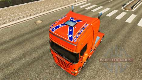 Skin Hazzard v2.0 truck Scania for Euro Truck Simulator 2