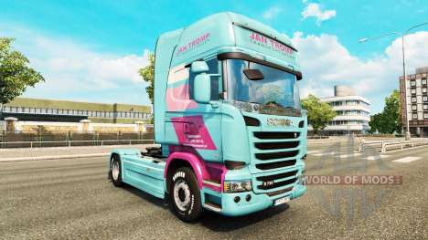 Jan Tromp skin for Scania truck for Euro Truck Simulator 2