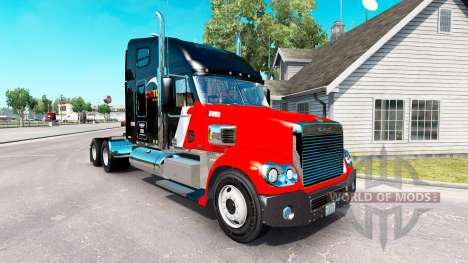 Skin CNTL on the truck Freightliner Coronado for American Truck Simulator