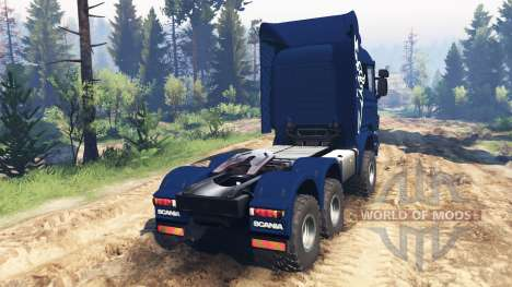Scania R730 v2.0 for Spin Tires