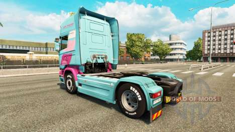 Jan Tromp skin for Scania truck for Euro Truck Simulator 2