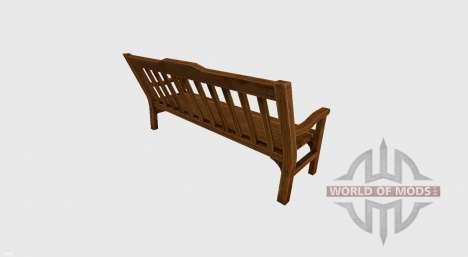 Garden bench for Farming Simulator 2017