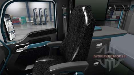 Interior Blue Dial for Kenworth T680 for American Truck Simulator