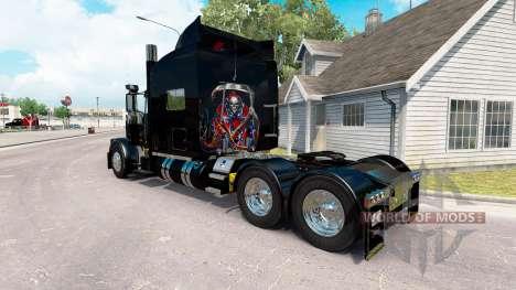 Rebel Reaper skin for the truck Peterbilt 389 for American Truck Simulator