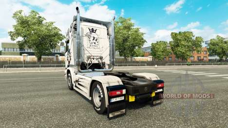 Skin Simply the Best on the tractor Scania Strea for Euro Truck Simulator 2