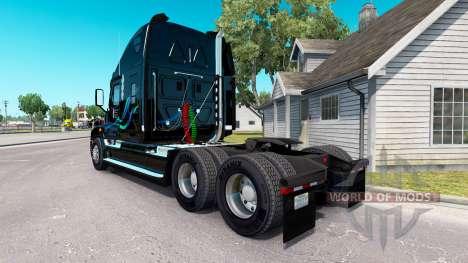 John Christner skin on Freightlin truck Cascadia for American Truck Simulator