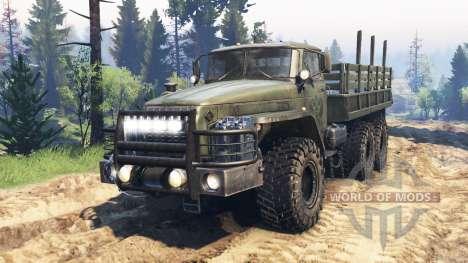 Ural-4320-10 v2.0 for Spin Tires