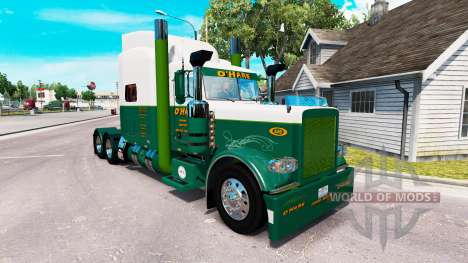 Skin OHARE Towing Service on tractors for American Truck Simulator