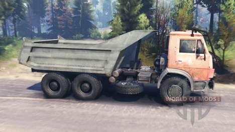 KamAZ-53212 v2.0 for Spin Tires