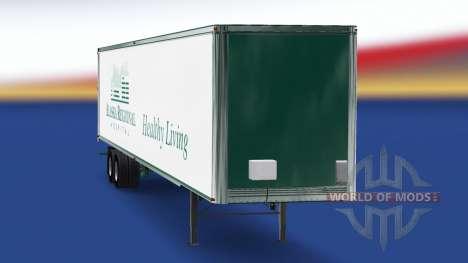 Skin Alaska Regional Hospital on the trailer for American Truck Simulator