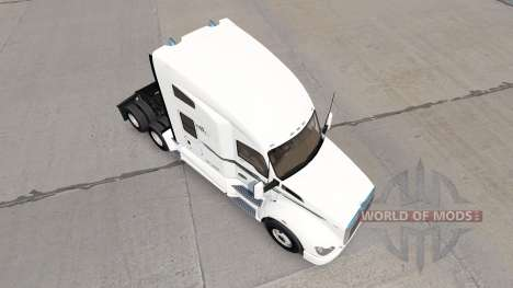 Skin BIG D Transport on trucks for American Truck Simulator