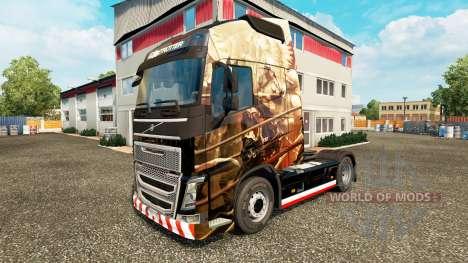 Husaria skin for Volvo truck for Euro Truck Simulator 2