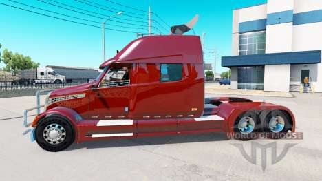 Concept truck 2020 Raised Roof Sleeper for American Truck Simulator