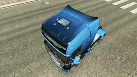 Disaster Transport skin for Scania truck for Euro Truck Simulator 2