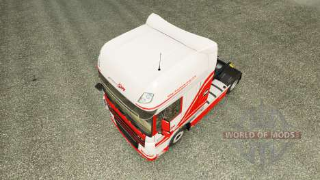 TruckSim skin for DAF truck for Euro Truck Simulator 2