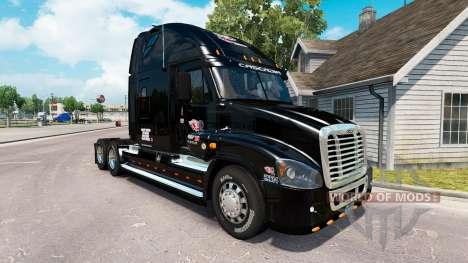 Skin on KTS truck Freightliner Cascadia for American Truck Simulator