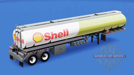 Skin Shell for fuel tank for American Truck Simulator