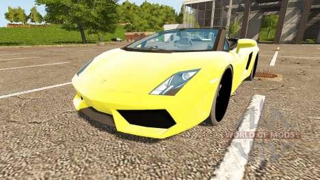 Lamborghini Gallardo Spyder for Farming Simulator 2017