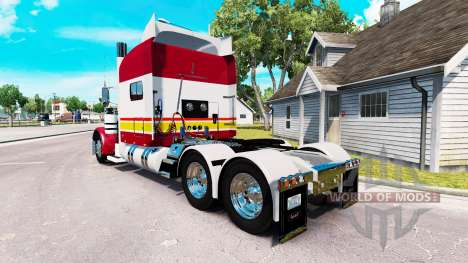 Skin IN-N-OUT for the truck Peterbilt 389 for American Truck Simulator