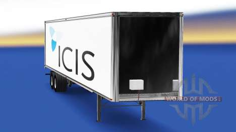 Skin-of ICIS on the trailer for American Truck Simulator