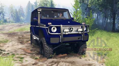 Mercedes-Benz G65 AMG v4.0 for Spin Tires