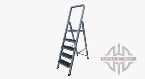 Aluminum ladder for Farming Simulator 2017