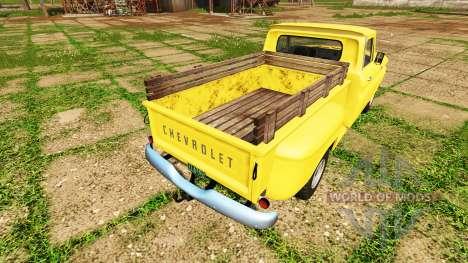 Chevrolet C10 Fleetside 1966 4x4 for Farming Simulator 2017