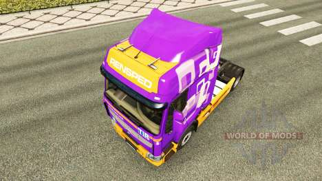 Skin Rensped for tractor Renault for Euro Truck Simulator 2