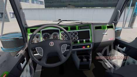 Interior Green-gray for Kenworth W900 for American Truck Simulator