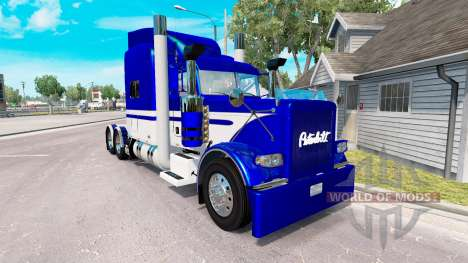 Skin Equipment Express truck Peterbilt 389 for American Truck Simulator