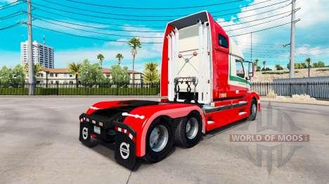 Skin Van den Bosch for Volvo truck VNL 670 for American Truck Simulator