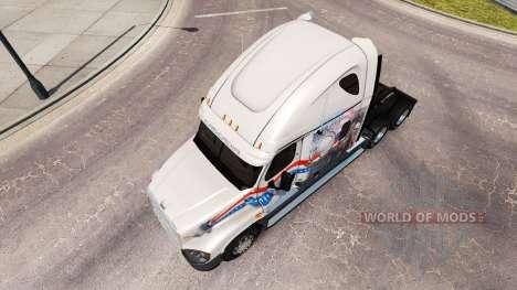 Скин Bay&Bay POW MIA на Freightliner Cascadia for American Truck Simulator