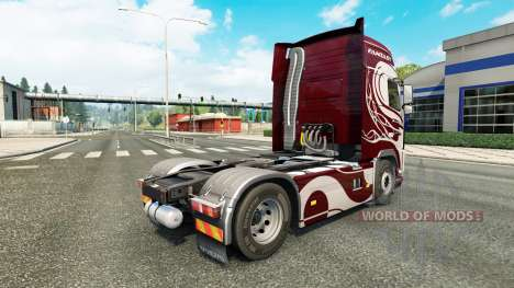 Fantasy skin for Volvo truck for Euro Truck Simulator 2