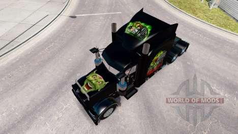 Skin Maximum Overdrive on the truck Peterbilt 38 for American Truck Simulator