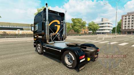 Tegma Logistic skin for Scania truck for Euro Truck Simulator 2