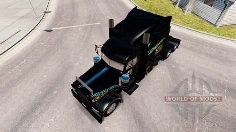 Smith Transport skin for the truck Peterbilt 389 for American Truck Simulator